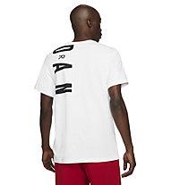 Nike Jordan Air Stretch - Basketballshirt - Herren, White
