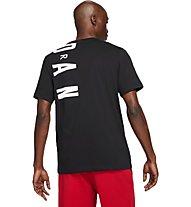Nike Jordan Air Stretch - Basketballshirt - Herren, Black