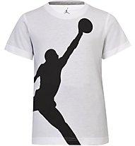Nike Jordan Branded 1 - T Shirt - Jungen, White
