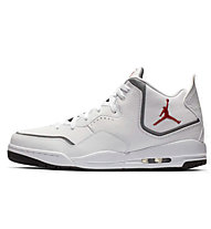 Nike Jordan Courtside 23 - Basketballschuhe - Herren, White/Red
