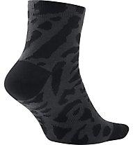 Nike Jordan Elephant Quarter Socks - Basket Socken, Black/Grey