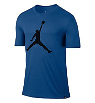 Nike Jordan Iconic Jumpman Logo - T Shirt - Herren, Blue