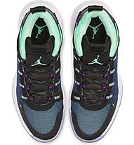 Nike Jordan Jumpman 2020 - Basketballschuhe - Herren, Black/Blue/Green