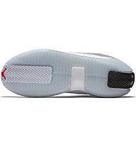 Nike Jordan Jumpman Hustle - Basketballschuhe - Herren, White/Black