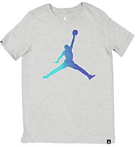 Nike Jordan Radiant Jumpman Tee - T Shirt - Jungen, Grey