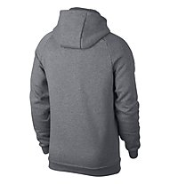 Nike Jordan Sportswear Jumpman Fleece Men's Full-Zip Hoodie - Kapuzenjacke - Herren, Grey