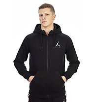 Nike Jordan Sportswear Jumpman Fleece Men's Full-Zip Hoodie - felpa con cappuccio, Black