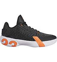 Nike Jordan Ultra Fly 3 - Basketballschuhe - Herren, Black/White/Orange