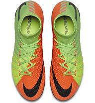 Nike Jr Hypervenom Phantom 3 DF FG Scarpe da calcio per terreni duri bambino, Green