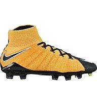 Nike JR Hypervenom Phantom 3 FD FG - Fußballschuhe - Kinder, Gold/Black/White