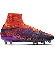 Nike Jr. HyperVenom Phantom II FG - scarpe da calcio terreni compatti bambino, Crimson