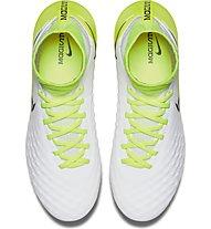 Nike Jr Magista Obra II FG - scarpa calcio terreni compatti bambino, White