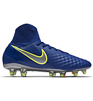 Nike Jr Magista Obra II FG - Fußballschuh für festen Boden - Kinder, Blue/Black