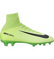 Nike Jr. Mercurial Superfly V FG - Fußballschuhe fester Boden Kinder, Green