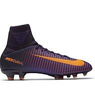 Nike Jr. Mercurial Superfly V FG - scarpe da calcio terreni compatti bambino, Purple