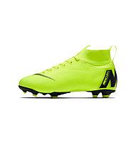 Nike Jr. Mercurial Superfly VI Elite FG - Fußballschuhe fester Boden - Kinder, Green