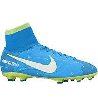 Nike Jr. Mercurial Victory VI Dynamic Fit Neymar FG - Fußballschuhe - Kinder, Blue/White