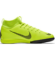 Nike Jr. MercurialX Superfly VI Academy GS IC - Fußballschuh Indoor - Kinder, Green