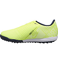 Nike JR Phantom Venom Academy TF - scarpe da calcio per terreni duri - ragazzo, Light Green