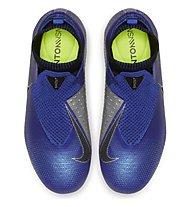 Nike Jr. Phantom Vision Elite Dynamic Fit MG - Fußballschuhe Rasenplätze - Kinder, Blue/Grey