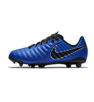 Nike Jr. Tiempo Legend VII Academy MG - Fußballschuh Multiground - Kinder, Blue/Black