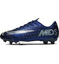 Nike Jr. Mercurial Vapor 13 Academy MDS MG - Fußballschuhe Kunstrasen - Kinder, Blue/White