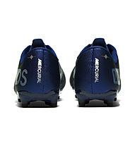 Nike Jr. Mercurial Vapor 13 Academy MDS MG - scarpe da calcio multiground - bambino, Blue/White