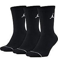 Nike Jumpman Crew 3 Paar - Basketballsocken - Unisex, Black