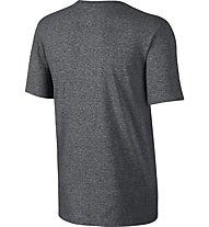 Nike Just Do It - Swoosh T-Shirt, Charcoal Heather