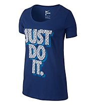 Nike Just Do It - T-Shirt Damen, Blue