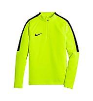 Nike Squad Drill Top Fußballtrikot Jungen, Volt/Black