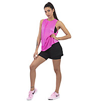 Nike Knit Training - top fitness - donna, Pink