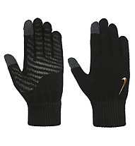 Nike Knitted Tech and Grip - guanti running, Black/Grey