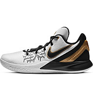 Nike Kyrie Flytrap II - scarpe basket, White/Gold/Grey