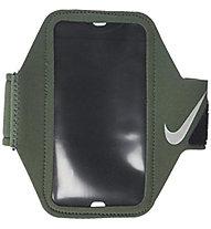 Nike Lean Arm Band - custodia universale running, Black/Green
