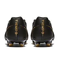 Nike Legend 7 Academy FG - Fußballschuh feste Rasenplätze, Black/Gold