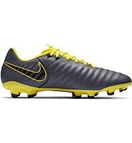 Nike Tiempo Legend 7 Academy FG - Fußballschuh feste Rasenplätze, Dark Grey/Yellow