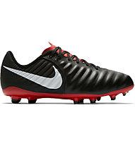 Nike Legend 7 Academy junior MG - scarpe da calcio multiterreni - bambino, Black/White