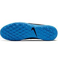 Nike Legend 8 Club TF - scarpe da calcio terreni duri, Black/Blue