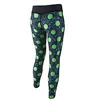 Nike Legend Allover Print Tight pantaloni da ginnastica, Electro Green/Black/Cool Grey
