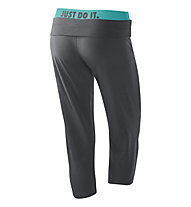 Nike Legend Obsessed Capri, Anthracite/Turquoise