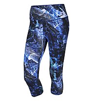 Nike Legendary Engineered Marble Pantaloni corti fitness donna, Deep Royal Blue/ Fraimis