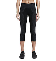 Nike Legendary Engineered Tidal Pantaloni corti fitness donna, Black Anthracite/Black