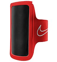 Nike Lightweight Arm Band 2.0 - Portacellulare, Red/Black