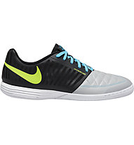 Nike Lunar Gato II IC - scarpe da calcetto, Black/White