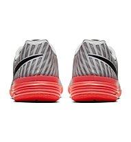 Nike Lunar Gato II IC - scarpe da calcetto indoor - uomo, Platinum/Red