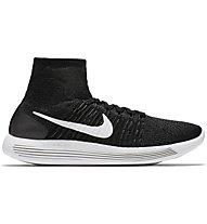 Nike Lunarepic Flyknit - Neutrallaufschuh Herren, Black/White