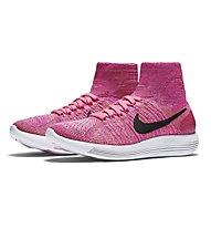Nike Lunarepic Flyknit Scarpa Running Donna, Pink
