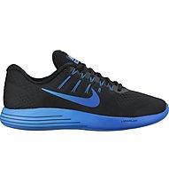 Nike LunarGlide 8 Stabil-Laufschuh Herren, Black/Blue