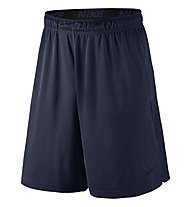 "Nike Fly 9"" Short - pantaloni corti fitness, Dark Blue"